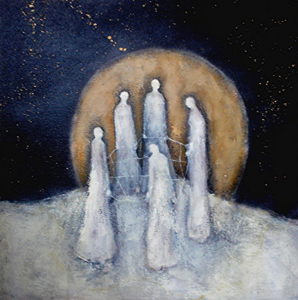 The Weavers by Jeanie Tomanek