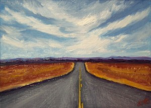 Road Trip by Lisa MD Skinner.
