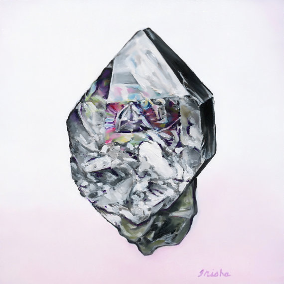Herkimer Diamond by Trisha Thompson Adams
