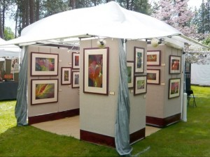Evolution of an Art Booth by Sheila M. Evans
