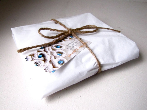 Packaging for Embroidery by Chelsea Wire.