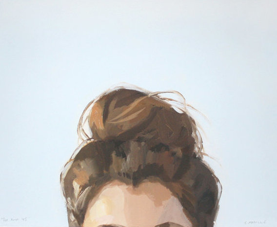 Top Knot 45 by Elizabeth Mayville