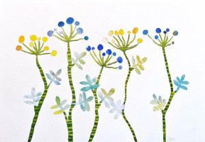 Floral Rhythm by Valeria Kondor
