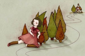 Resting on the Woods by Eloise H.R.