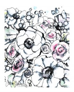 Modern Floral by Lana Gibson