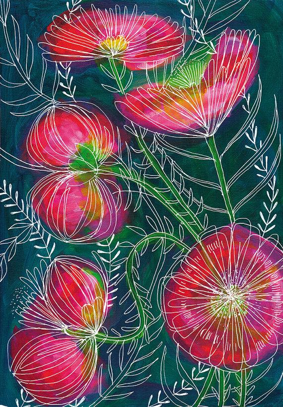 Always Flowers by Paula Mills