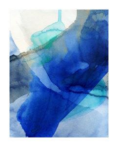 Deep Blue by Victoria Kloch