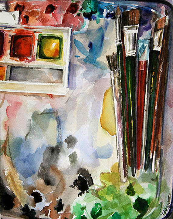 My Palette by Laura Prill