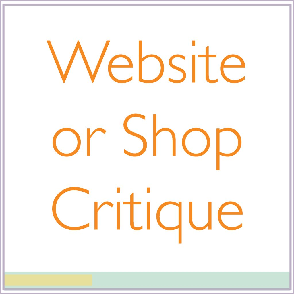 critique of website