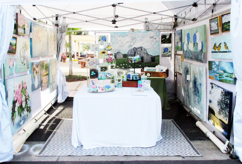 Art Festival Booth by Katie Phillips