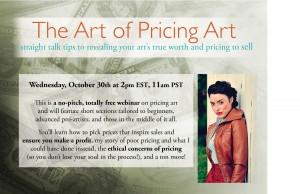 The Art of Pricing Art Webinar