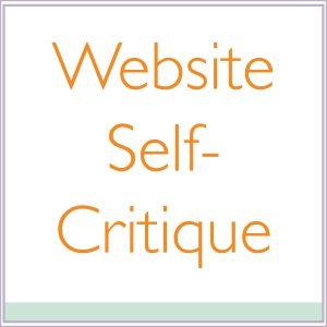 Website Self-Critique
