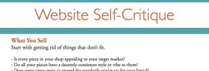 Website Self-Critique Preview