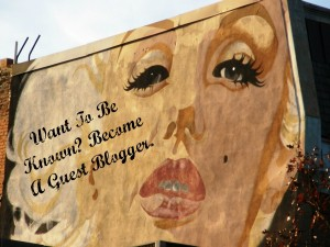 Be a Guest Blogger by Caylie Price.