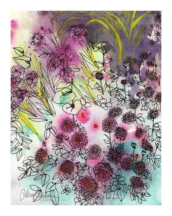 Garden Flowers #2 by Lana Gibson