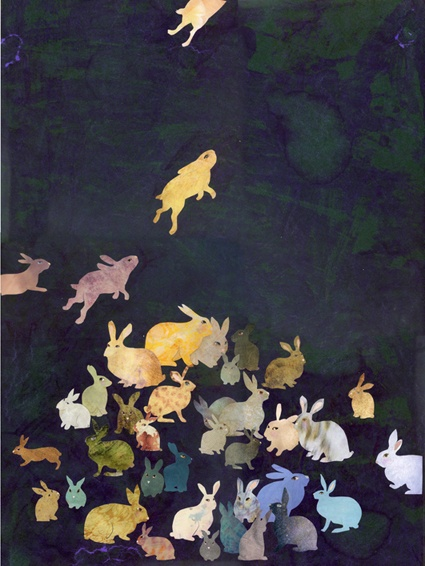Bunnies by Karine Daisay via Tracy Files.