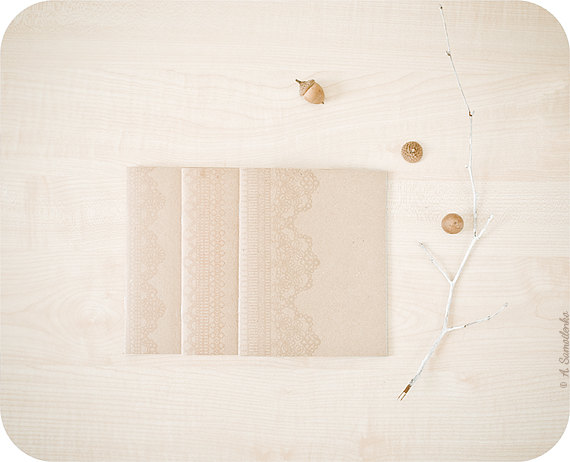 Lace Kraft Journals by Buntmal.