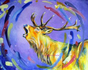 Stag by Elsie Merris-Osborne
