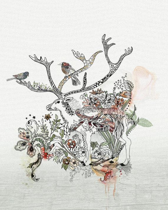 Deer by Liz Kapiloto