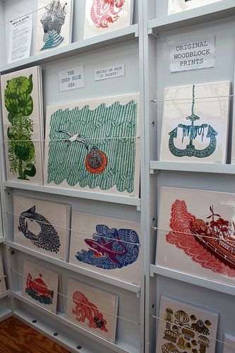 Tugboat at the Renegade Craft Fair by Kaitlyn Sullivan