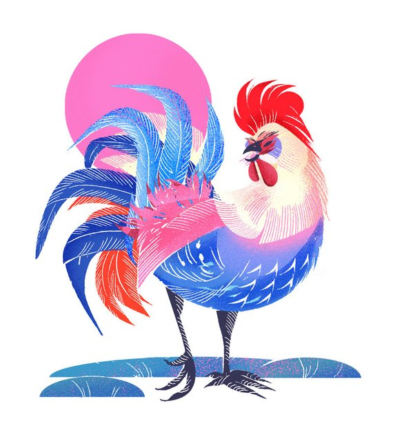 Year of the Rooster by Jenn Liv