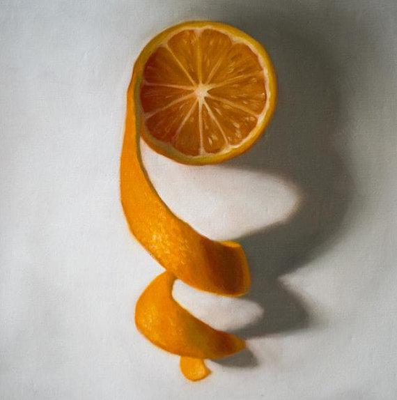Unwinding Orange by Lauren Pretorius