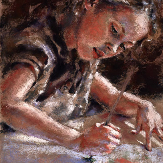 The Little Artist by Alisa Wilcher