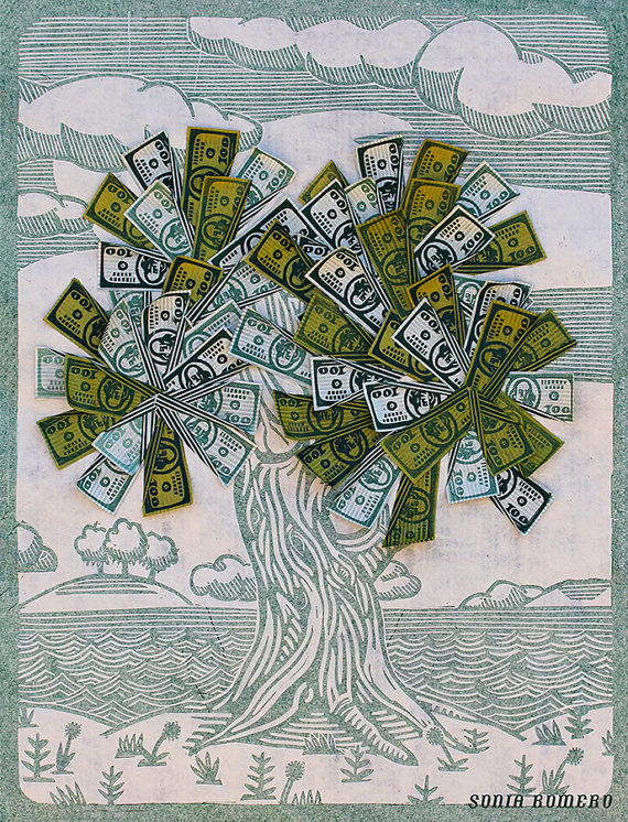 Money Tree by Sonia Romero