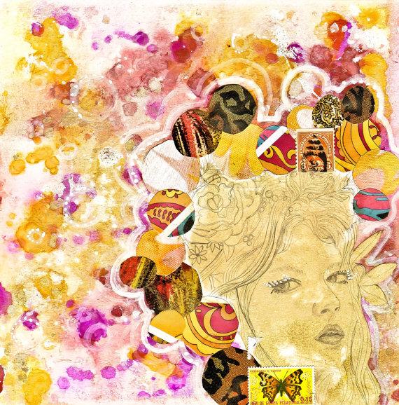 Day 8 by Jennifer Lee. Mixed media.