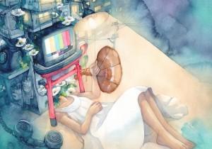 Sleepless Night by Syuka-Taupe.