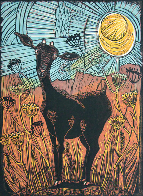 Goat and Anis by Mariann Johansen-Ellis