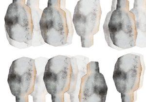 Composition with Heads by Boriana Mihailovska
