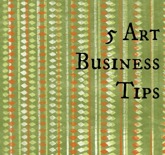 5 Art Business Tips