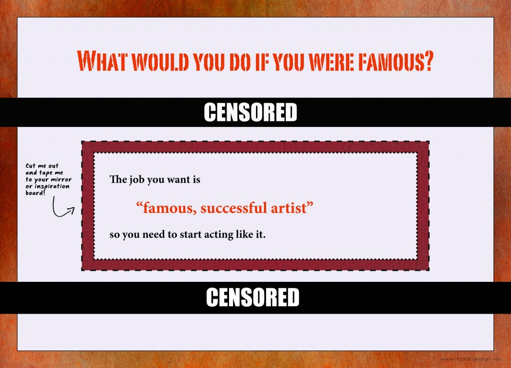 The Famous Artist Mindset
