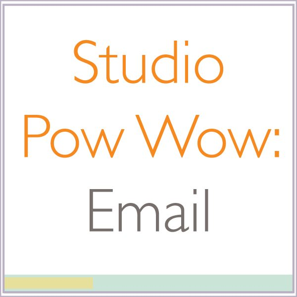 Studio Pow Wow: Email Marketing for Artists