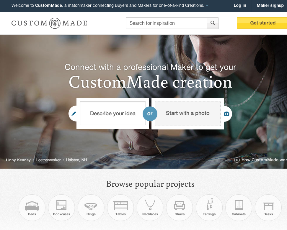 New Resource: CustomMade