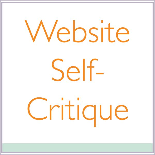 Website Self-Critique