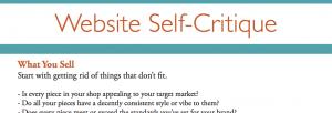Website Self-Critique Preview