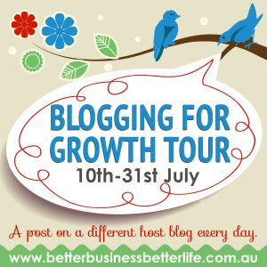 Caylie Price's Blogging for Growth Tour